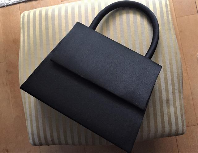 ビンテージ黒布張りのバッグ30 sold out!_f0112550_07525851.jpg