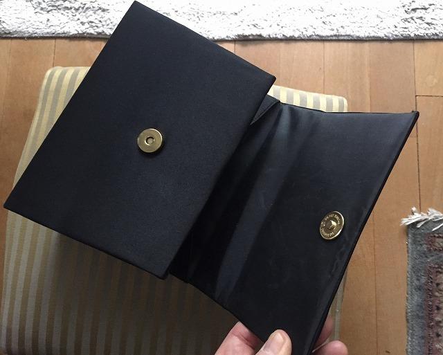 ビンテージ黒布張りのバッグ30 sold out!_f0112550_07525874.jpg