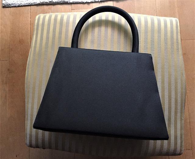 ビンテージ黒布張りのバッグ30 sold out!_f0112550_07525968.jpg