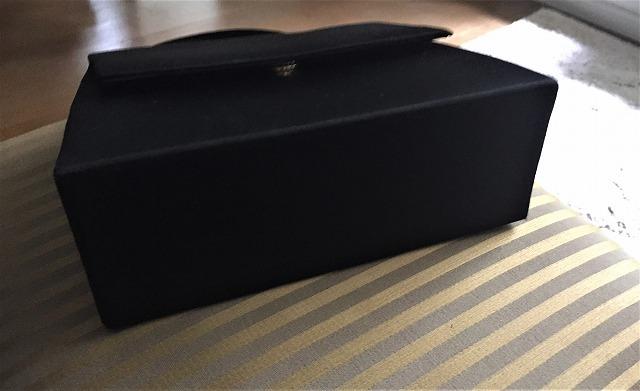 ビンテージ黒布張りのバッグ30 sold out!_f0112550_07525969.jpg