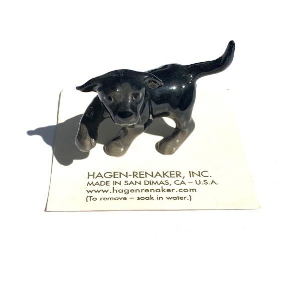 Hagen Renaker Labrador PUP BLACK  ヘイゲンリネカー ラブラドール パップ ブラック_d0217958_12270592.jpg