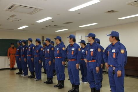 地域の安全・安心を守る消防団の特別教育が開催されました~令和元年度上十三地区消防協会消防団員特別教育~_f0237658_13384823.jpg