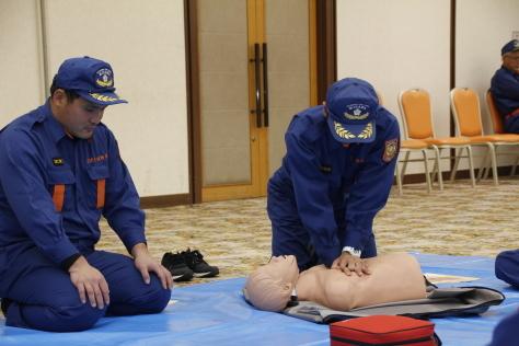 地域の安全・安心を守る消防団の特別教育が開催されました~令和元年度上十三地区消防協会消防団員特別教育~_f0237658_13391483.jpg