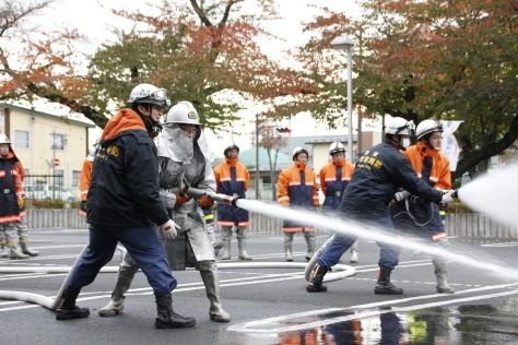 地域の安全・安心を守る消防団の特別教育が開催されました~令和元年度上十三地区消防協会消防団員特別教育~_f0237658_13392257.jpg