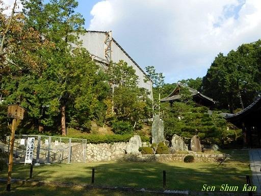 文化財建造物の保存修理 東福寺 常楽庵 普門院 2019年11月1日_a0164068_11192796.jpg