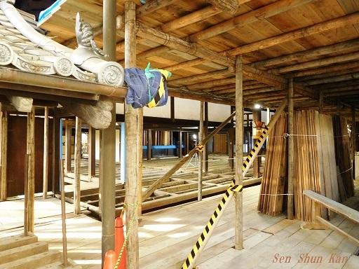 文化財建造物の保存修理 東福寺 常楽庵 普門院 2019年11月1日_a0164068_11192835.jpg