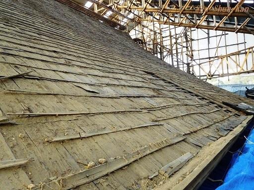 文化財建造物の保存修理 東福寺 常楽庵 普門院 2019年11月1日_a0164068_11281575.jpg