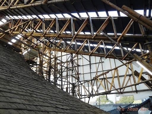 文化財建造物の保存修理 東福寺 常楽庵 普門院 2019年11月1日_a0164068_11304955.jpg