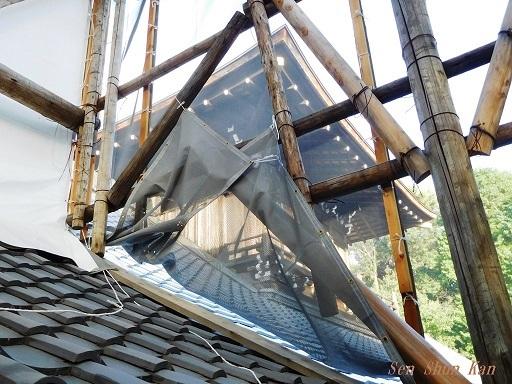文化財建造物の保存修理 東福寺 常楽庵 普門院 2019年11月1日_a0164068_11304976.jpg