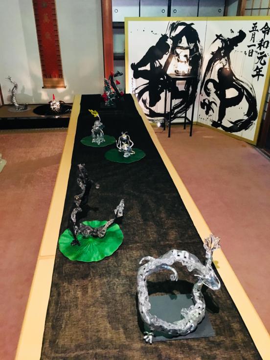 丹生川上神社中社での個展が終了しました。_c0202869_06074232.jpg