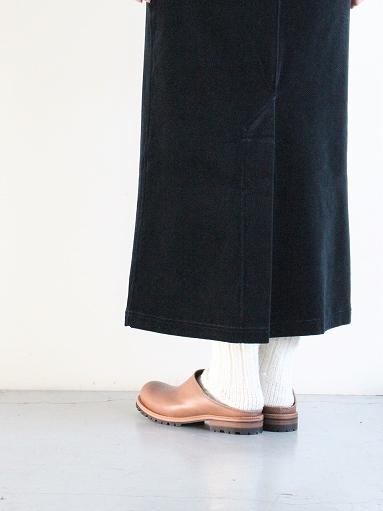 unfil cotton velvet jersey midi skirt_b0139281_1633182.jpg