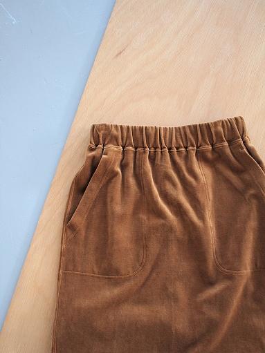 unfil cotton velvet jersey midi skirt_b0139281_1633613.jpg