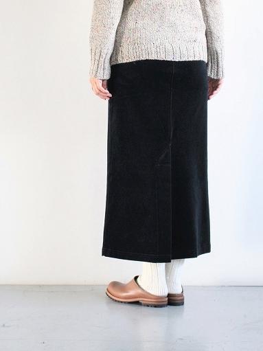 unfil cotton velvet jersey midi skirt_b0139281_1634327.jpg