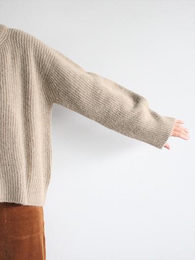 unfil boiled camel sweater_b0139281_18573222.jpg
