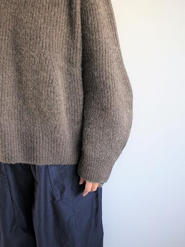 unfil boiled camel sweater_b0139281_18574491.jpg