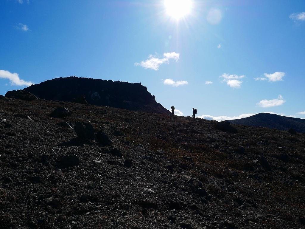 樽前山の最高点へ、2019.11.5ーその1ー_f0138096_22224316.jpg