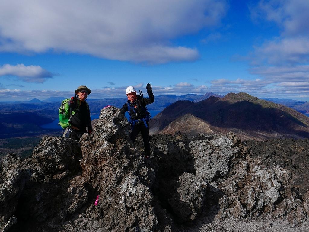 樽前山の最高点へ、2019.11.5ーその1ー_f0138096_22233950.jpg