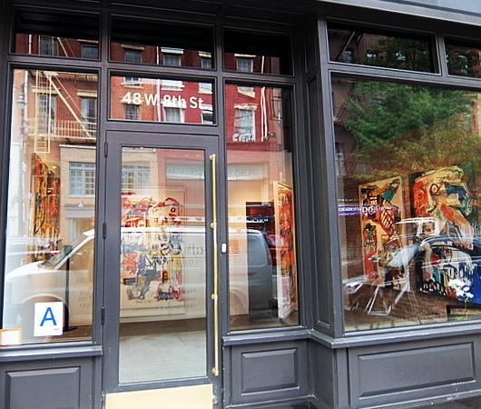 NYのギャラリー奥に隠れてるNY Times二つ星フレンチ・レストラン、Frevo_b0007805_05224489.jpg