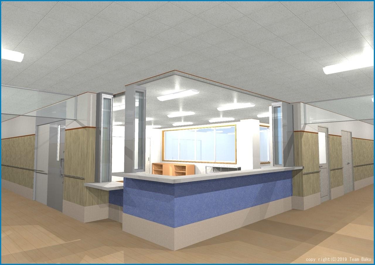 N病院グループ N病院東館 介護医療院転換改修工事 2_c0376508_12435607.jpg