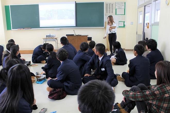 県立羽茂高校・佐渡市松ヶ崎地区においてワークショップを行いました_c0167632_15572171.jpg