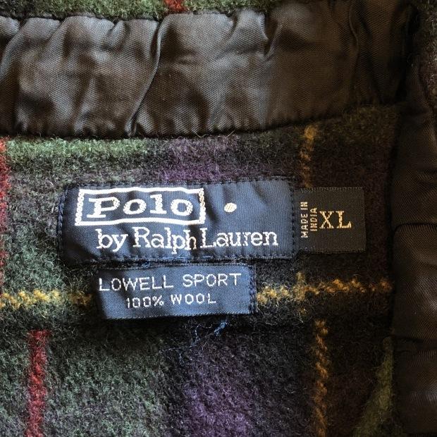 """90\'s \""""Polo Ralph Lauren\"""" ウールシャツ!!!!!_c0355834_17542870.jpg"""