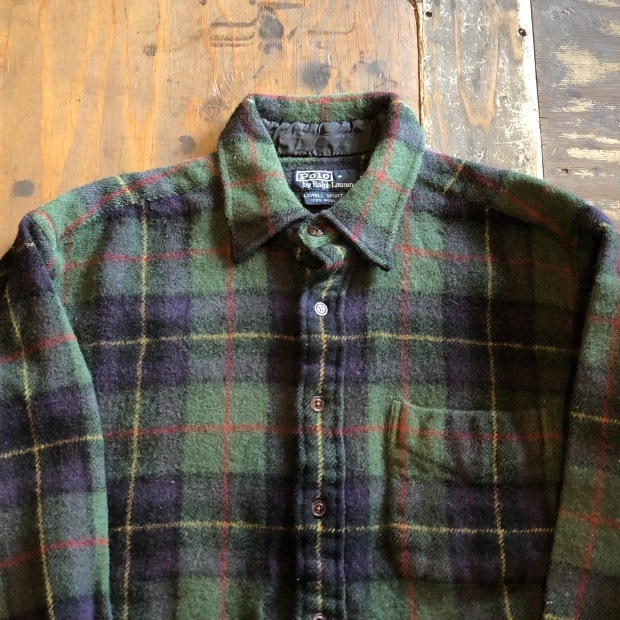 """90\'s \""""Polo Ralph Lauren\"""" ウールシャツ!!!!!_c0355834_17543472.jpg"""
