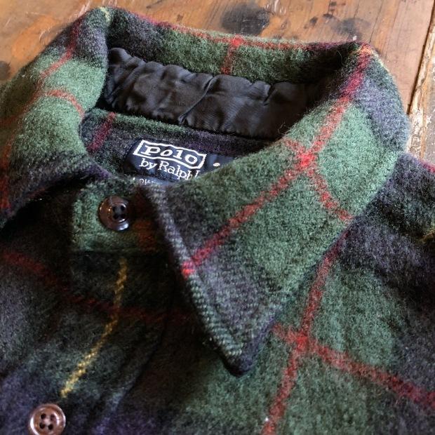 """90\'s \""""Polo Ralph Lauren\"""" ウールシャツ!!!!!_c0355834_17544464.jpg"""