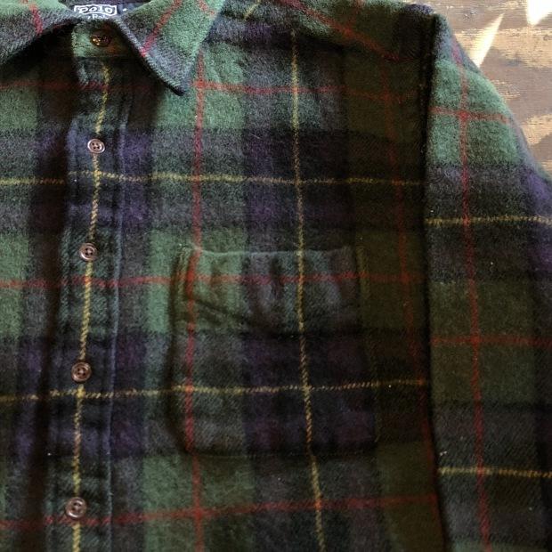 """90\'s \""""Polo Ralph Lauren\"""" ウールシャツ!!!!!_c0355834_17544757.jpg"""