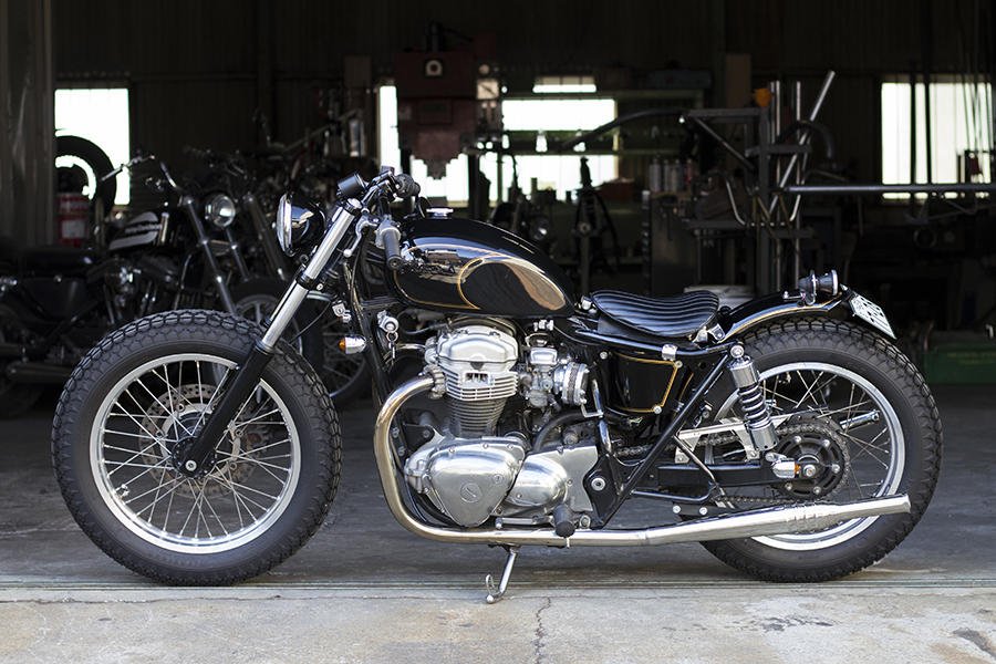 FOR SALE!! KAWASAKI W650 フルカスタム_e0182444_19333242.jpg
