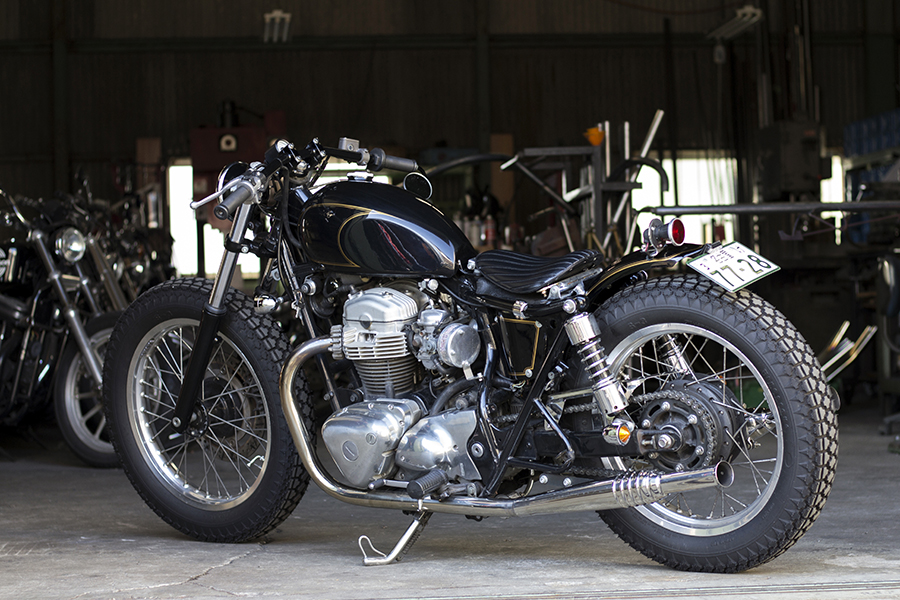 FOR SALE!! KAWASAKI W650 フルカスタム_e0182444_19333754.jpg