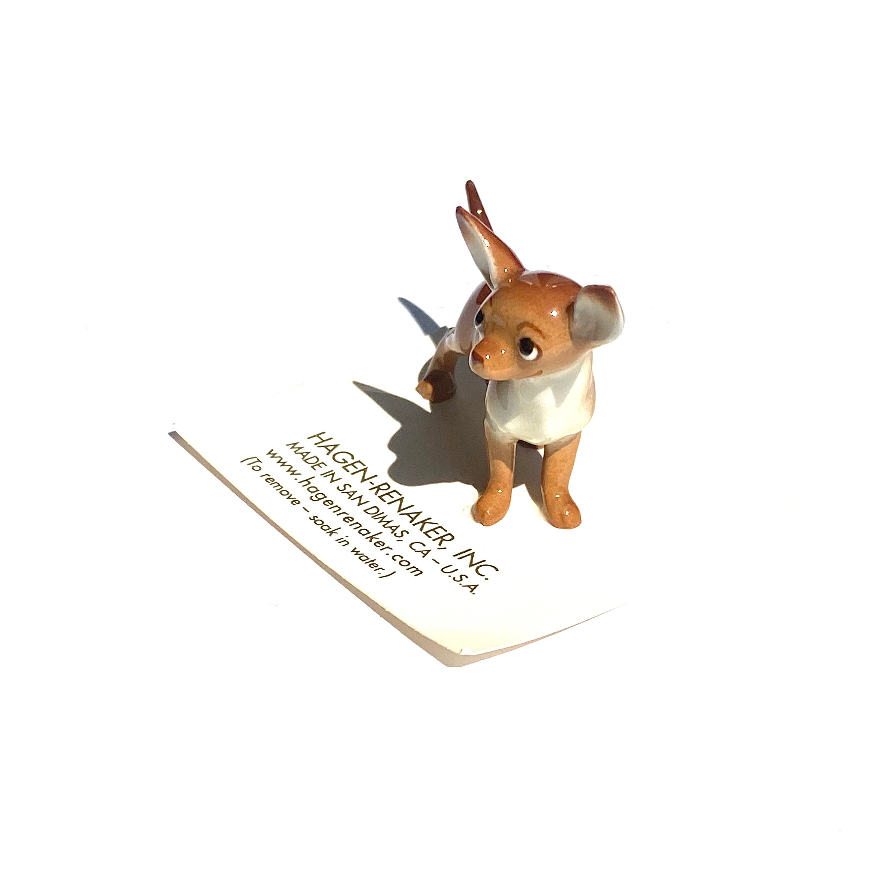Hagen Renaker Chihuahua Mama Brown ヘイゲンリネカー チワワ ママ ブラウン_d0217958_11593407.jpg