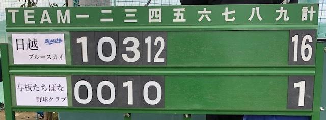 11月4日練習試合結果!vs与板たちばな野球クラブさん_b0095176_11153590.jpeg