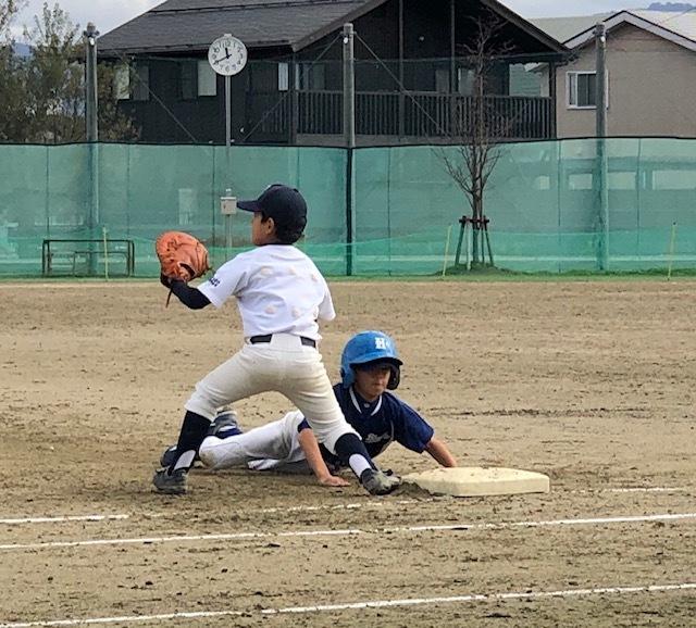 11月4日練習試合結果!vs与板たちばな野球クラブさん_b0095176_11161387.jpeg
