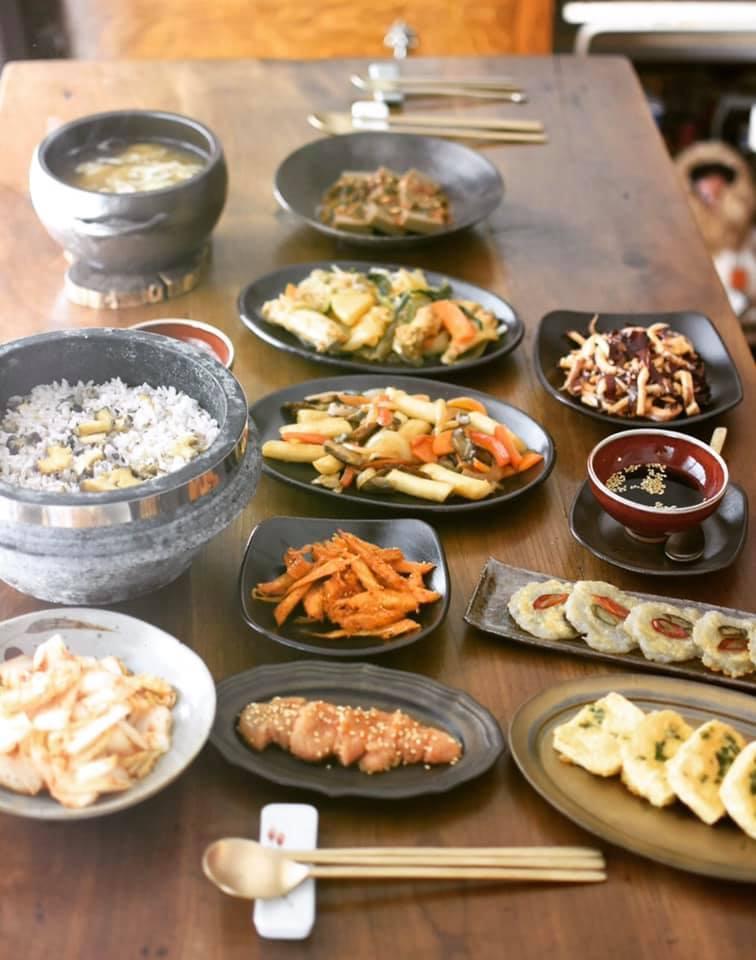 韓国料理レッスン風景_a0100596_10365313.jpg