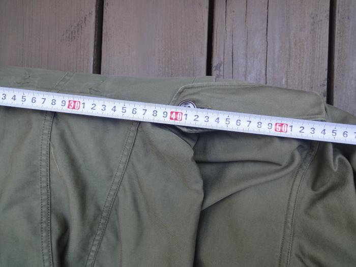 M-51parka(モッズコート)のサイズ感について_a0164296_21102706.jpg