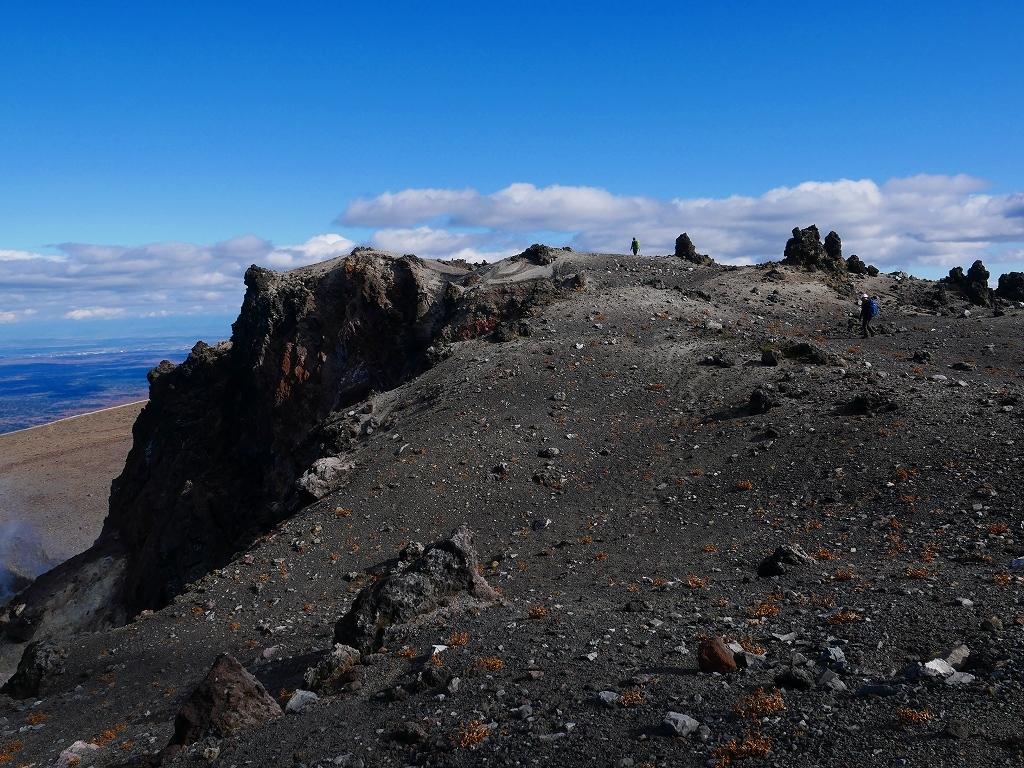 樽前山の最高点へ、2019.11.5ーその2ー_f0138096_17523994.jpg