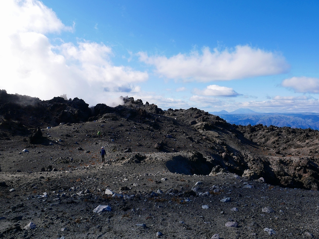 樽前山の最高点へ、2019.11.5ーその2ー_f0138096_17524574.jpg
