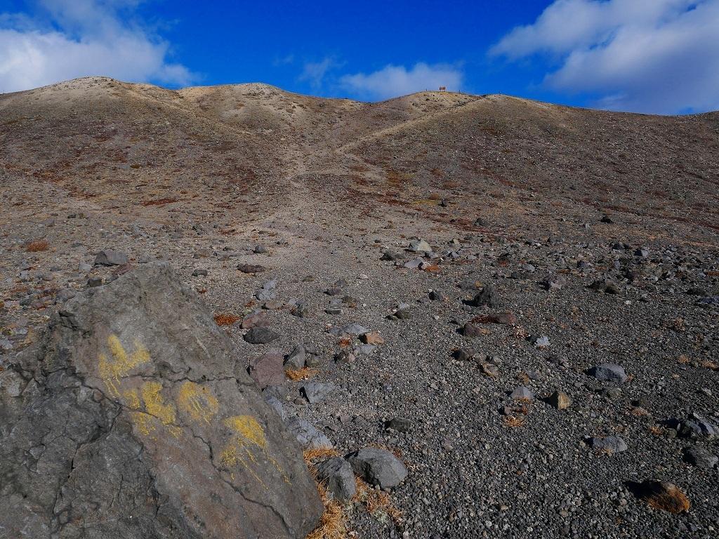 樽前山の最高点へ、2019.11.5ーその2ー_f0138096_17532653.jpg
