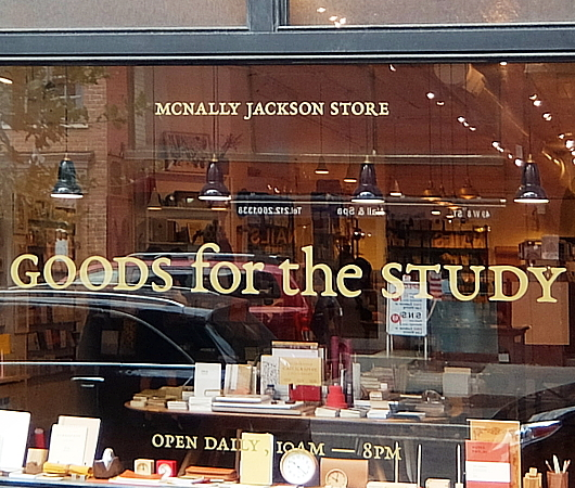 "NYの独立系書店、McNally Jacksonが出してる文房具屋さん、""GOODS for the STUDY""_b0007805_11032381.jpg"
