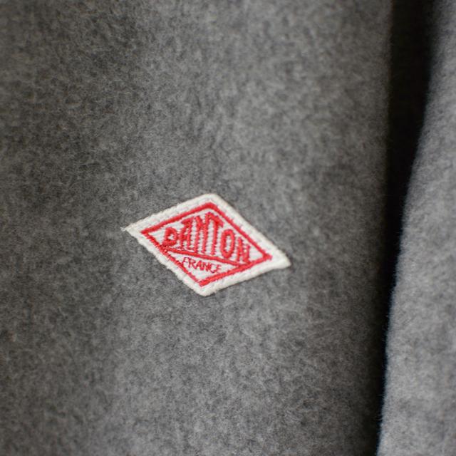 DANTON [ダントン] M\'s FLEECE NOCOLLAR JACKET [JD-8939] フリースノーカラージャケット・カーディガン・羽織り・メンズ・男性用・MEN\'S_f0051306_11314351.jpg