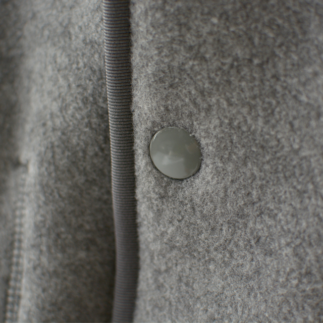 DANTON [ダントン] M\'s FLEECE NOCOLLAR JACKET [JD-8939] フリースノーカラージャケット・カーディガン・羽織り・メンズ・男性用・MEN\'S_f0051306_11314416.jpg