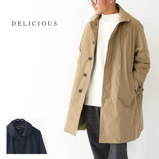 DELICIOUS [デリシャス] Travel Coat [DCO1031] トラベルコート・キレイ目コート・秋コート・MEN\'S_f0051306_11493449.jpg