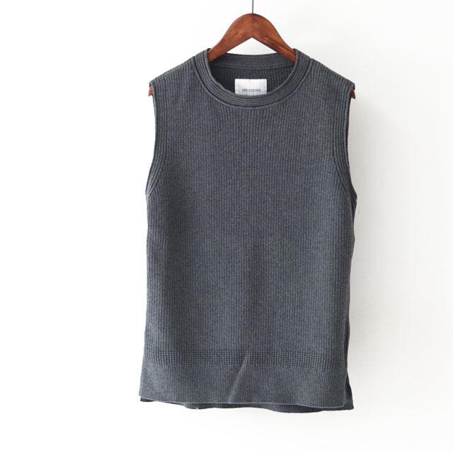 DELICIOUS [デリシャス] Cotton Knit Vest [DN3635] コットンニットベスト・クルーネック・五泉ニット・コットンニット・MEN\'S_f0051306_11552738.jpg
