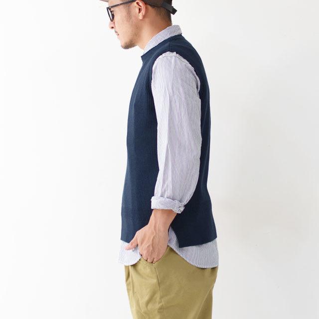 DELICIOUS [デリシャス] Cotton Knit Vest [DN3635] コットンニットベスト・クルーネック・五泉ニット・コットンニット・MEN\'S_f0051306_11552761.jpg