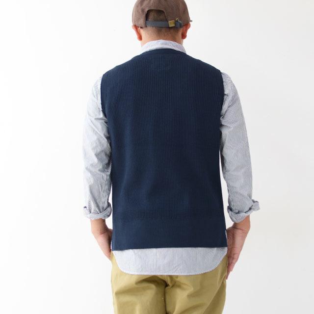 DELICIOUS [デリシャス] Cotton Knit Vest [DN3635] コットンニットベスト・クルーネック・五泉ニット・コットンニット・MEN\'S_f0051306_11552769.jpg
