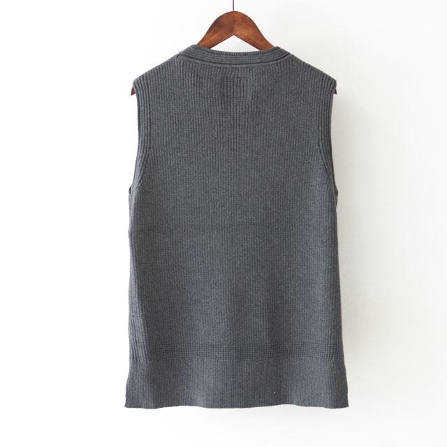 DELICIOUS [デリシャス] Cotton Knit Vest [DN3635] コットンニットベスト・クルーネック・五泉ニット・コットンニット・MEN\'S_f0051306_11552791.jpg