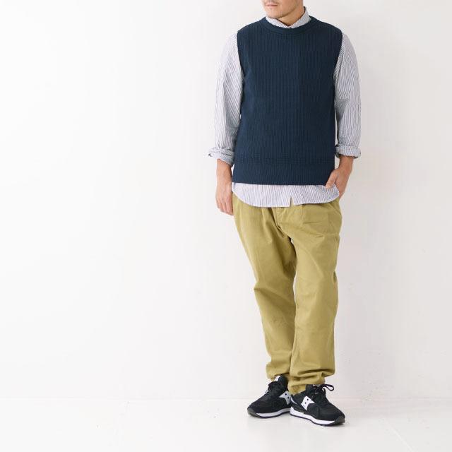 DELICIOUS [デリシャス] Cotton Knit Vest [DN3635] コットンニットベスト・クルーネック・五泉ニット・コットンニット・MEN\'S_f0051306_11552864.jpg
