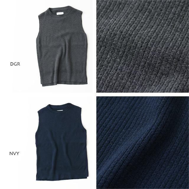 DELICIOUS [デリシャス] Cotton Knit Vest [DN3635] コットンニットベスト・クルーネック・五泉ニット・コットンニット・MEN\'S_f0051306_11552866.jpg