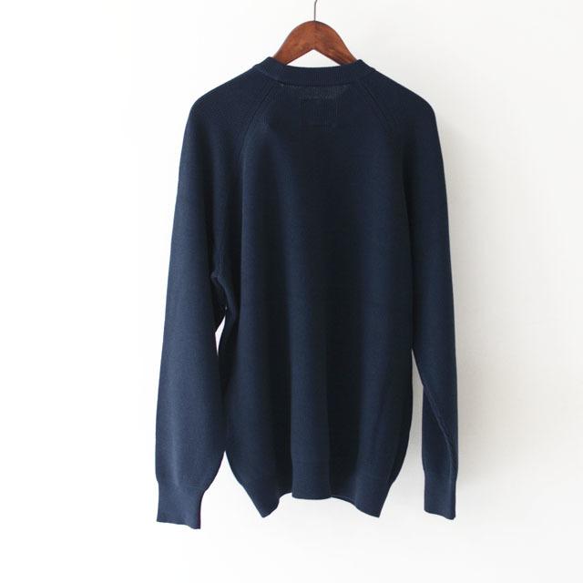 DELICIOUS [デリシャス] Cotton Crew Sweater [DN4335] コットンクルーセーター・五泉ニット・コットンニット・ミリタリーニット・MEN\'S_f0051306_12071107.jpg