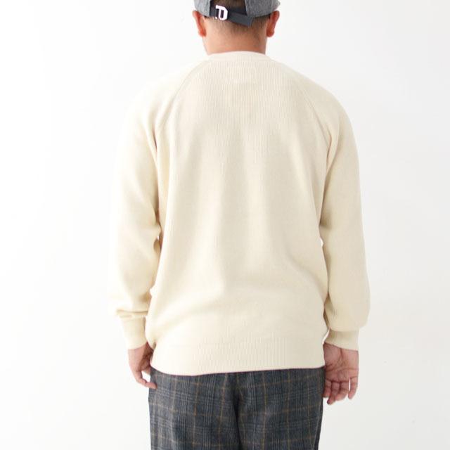 DELICIOUS [デリシャス] Cotton Crew Sweater [DN4335] コットンクルーセーター・五泉ニット・コットンニット・ミリタリーニット・MEN\'S_f0051306_12071152.jpg